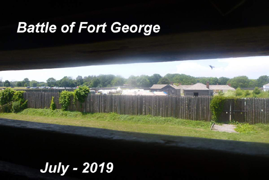 Fort George, Niagara-on-the-Lake 2019