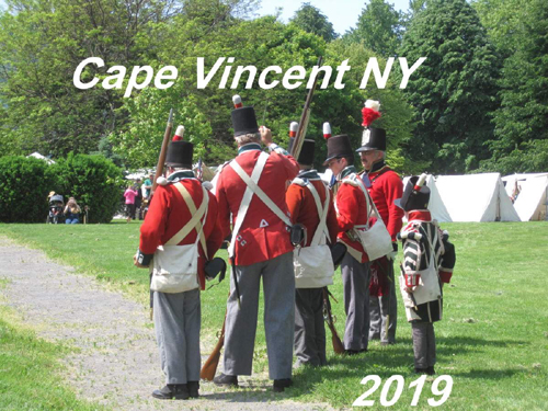 Cape Vincent NY, June 22-23, 2019